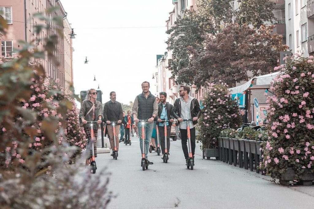 VOI Scooters -
